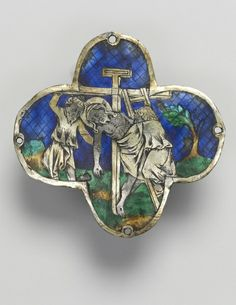 Quatrilobed Plaque: The Descent from the Cross, c. 1350-1400                                       Spain, Catalonia?, 14th century          ...