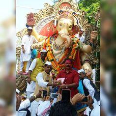 New pin for Ganpati Festival 2015 is created by by mum_ganpati with Marathi…
