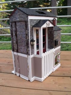 custom barbie folding  dollhouse