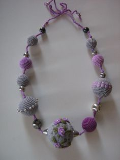 Crochet jewelry Monami por Suzann61 en Etsy