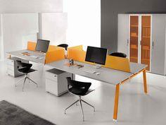 Estación de trabajo múltiples de madera ATREO | Estación de trabajo múltiples