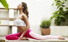 Two tone yoga leggings- 2 Sizes Left!
