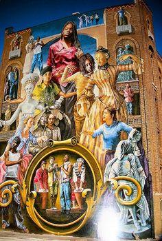 Philadelphia Mural Art | art (street sand ice etc...) | Pinterest