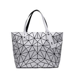 Cheap designer handbags, Buy Quality fashion handbag directly from China  handbag designer Suppliers  2017 Fashion Bao Bao Bag Women Tote Fold Summer  Diamond ... d859842af4