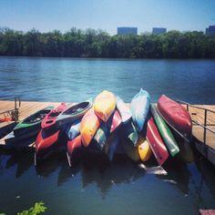 1. Kayaking at Thompson Boat Center