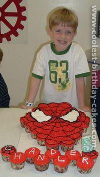 Spider Man Cake Photo
