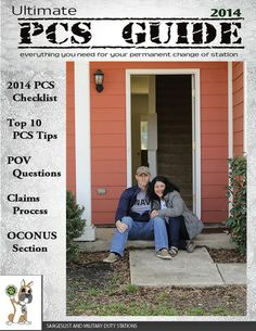 Military Life : 2014 Ultimate PCS Guide! Great information and lists!