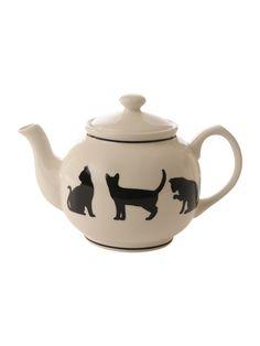 Cat Teapots. LOVE