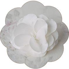 Haarblüte aus Seide für die Braut, Tracht, Sommerfest, Standesamt. Silk Flower Headpiece, Hairaccessoires wedding.