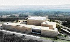 La Fondation Alliances présente son projet de musée à l'IMA                                                                                        Maquette du projet du Musée d'art contemporain africain (MACAAL) de la Fondation Alliances prévu à Marrakech