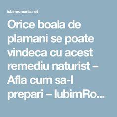 Orice boala de plamani se poate vindeca cu acest remediu naturist – Afla cum sa-l prepari – IubimRomania.net