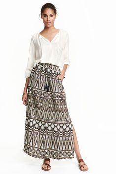 Crinkled skirt | H&M