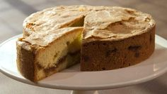 Amaretto cake. Amaretto adds a good glug of sophistication to this cake recipe – perfect for a late afternoon pick-me-up.