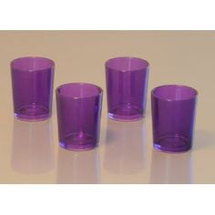 @Stacey Shew - purple votives - 50 cents each when you buy 12 on amazon.com.