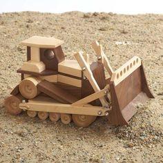 Construction-Grade Bulldozer Woodworking Plan from WOOD Magazine