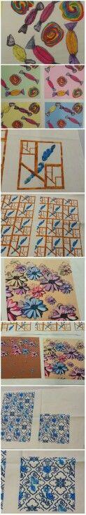 Textile Designs by Rebecca Callaghan, Jenny Makinson, Samantha Brown, Karolina Golek