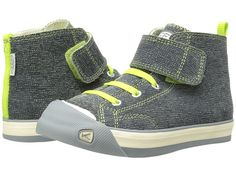 Keen Kids Coronado High Top Leather (Toddler/Little Kid) Green Plaid - Zappos.com Free Shipping BOTH Ways