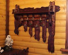 """Вешалка под старину """"Тайга"""", а также другие изделия из дерева для Вашего дома! Удобно и оригинально!"""