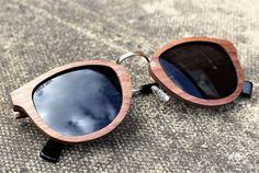 Occhiali di legno di Paul Ven Fox primavera. Legno occhiali