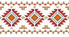 Native American Stencil Designs North plains border <b>stencil</b>