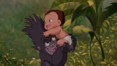 Tarzan and Baby Terk
