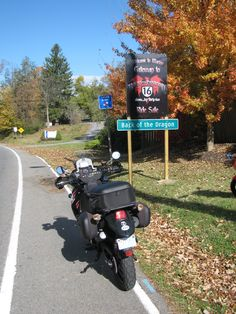 """Riding """"Back of the Dragon"""" from Marion to Tazewell, VA and back."""