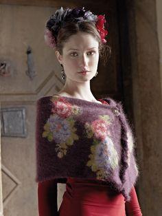 Luxurious scarf! - Rowan Knitting & Crochet Magazine 54 - Berenice Wrap