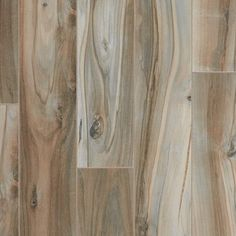 Brookwood Silver Wood Plank Porcelain Tile - 8in. x 48in. - 100211143 | Floor and Decor