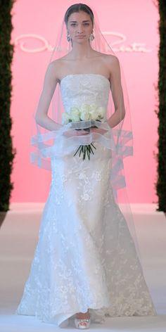 » Oscar de la Renta's Dreamy Spring Bridal Collection
