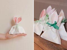 Tutorial para hacer bolsas con orejas de conejito.