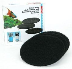 Eheim Carbon Filter Pads for 2217 Canister Filter - 3 pk - ON SALE! http://www.saltwaterfish.com/product-eheim-carbon-filter-pads-for-2217-canister-filter-3-pk
