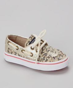 Champagne Sequin Bahama Boat Shoe by Sperry Top-Sider on #zulily