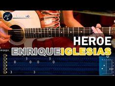 """Cómo tocar """"Héroe"""" de Enrique Iglesias en Guitarra (HD) Tutorial COMPLET..."""
