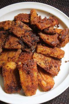 YUMMY TUMMY: Raw Banana Tawa Fry Recipe - Vazhakkai Varuval Recipe