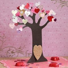 Art Fairy Valentine Tree crafts