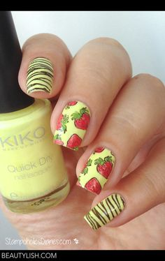 Strawberry Nails | Nataschafrankfurt ..'s Photo | Beautylish