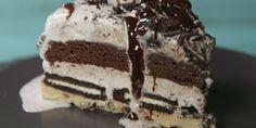 Best Slutty Brownie Ice Cream Cake Recipe - How To Make Slutty Brownie Ice Cream Cake