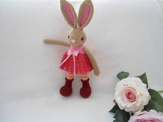 Lovely bunny /bunny girl crochet pattern by suwannascraftsroom on Etsy https://www.etsy.com/listing/509030744/lovely-bunny-bunny-girl-crochet-pattern