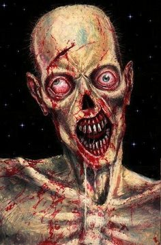 Zombie - Hide behind locked doors be as quiet as you can we still smell your flesh Arte Zombie, Zombie Art, Zombie Pics, Walking Dead Pictures, The Walking Dead, Zombie Movies, Vampire Art, The Revenant, Horror Art