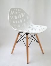 Chaise Madrid Blanc Scandinave Salle A Manger Ibh Design Chaise Design Chaise Design