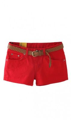 candy color shorts cs102 Red. style it as you want beacause it goes with every thing