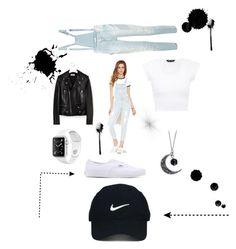 """My favorite "" by pourmoiettoi on Polyvore featuring mode, Forever 21, Yves Saint Laurent, Vans, Nike Golf en Pierre Balmain"