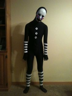 Marionette Fnaf Cosplay Marionette Fnaf Cosplay - Don't forget to wind me up or Ill come out to play! Made a FULL marionette costu.
