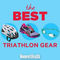 The BEST triathlon gear EVER: http://www.womenshealthmag.com/fitness/triathlon-gear-checklist?cm_mmc=Pinterest-_-WomensHealth-_-content-fitness-_-trigear
