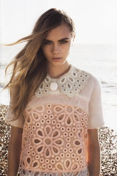 Cara Delevingne by Annabel Mehran for Lula Magazine | The Front Row View