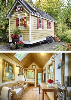 Quiet & Cozy Tiny House on the Bay, Olympia, WA, USA. Enjoy a beachfront getaway while trying out tiny living. The tiny house is nestled in a quiet, rural setting, yet just minutes from downtown Olympia. Hand built by Brittany, this cozy abode boasts all the amenities of home, just in a smaller size!