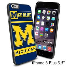 "NCAA M GO BLUE MICHIGAN , Cool iPhone 6 Plus (6+ , 5.5"") Smartphone Case Cover Collector iphone TPU Rubber Case Black Phoneaholic http://www.amazon.com/dp/B00VVKEIR4/ref=cm_sw_r_pi_dp_I-Cnvb0D5W30B"