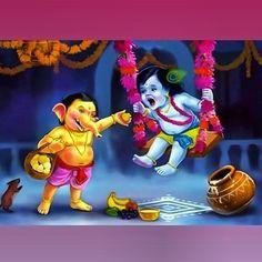 Sri Krishna Jayanthi or Krishna Janmashtami 2020 Rituals assures success in all spheres and eliminates all negative influences. Ganesh Images, Lord Krishna Images, Radha Krishna Images, Krishna Photos, Krishna Pictures, Krishna Statue, Krishna Leela, Krishna Radha, Hanuman