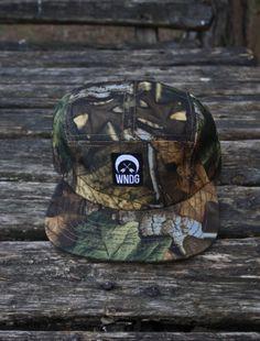 WENDIGO APPAREL Camo Leaf 5 Panel Hat