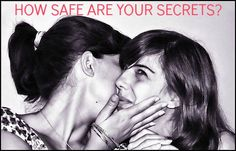 A new study looks at why we tell or keep secrets: https://www.psychologytoday.com/blog/head-games/201602/how-safe-are-your-secrets